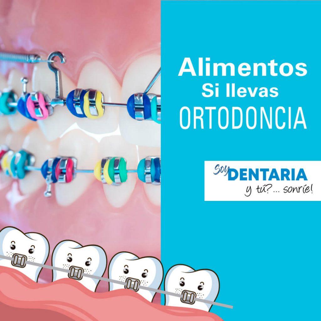 comidas con ortodoncia