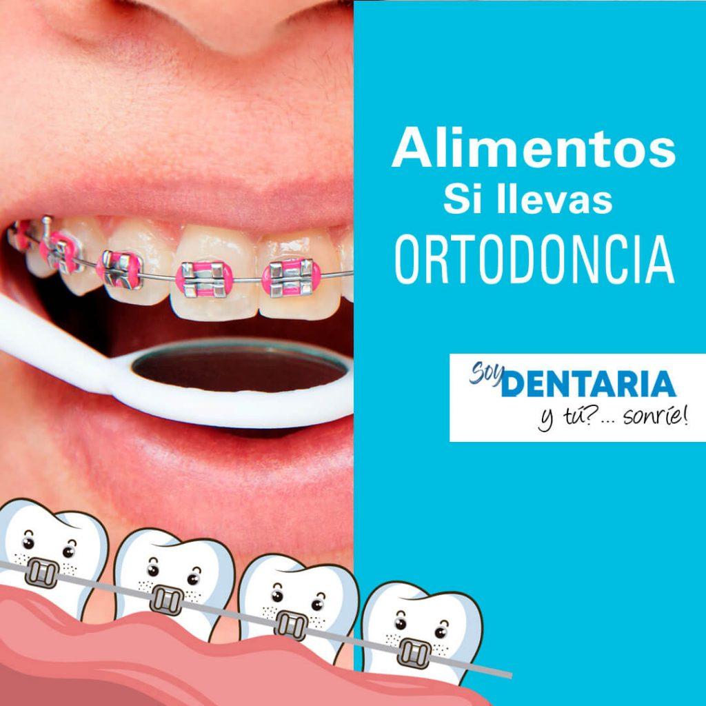 Consejos sobre alimentación si llevas ortodoncia