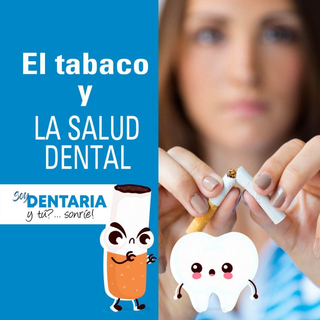 el tabaco y la salud dental