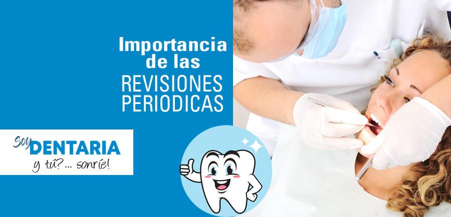 importancia de las revisiones periódicas al dentista