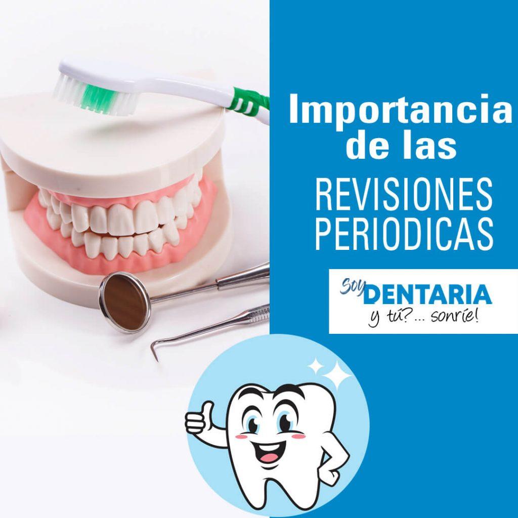 Revisiones periódicas al dentista