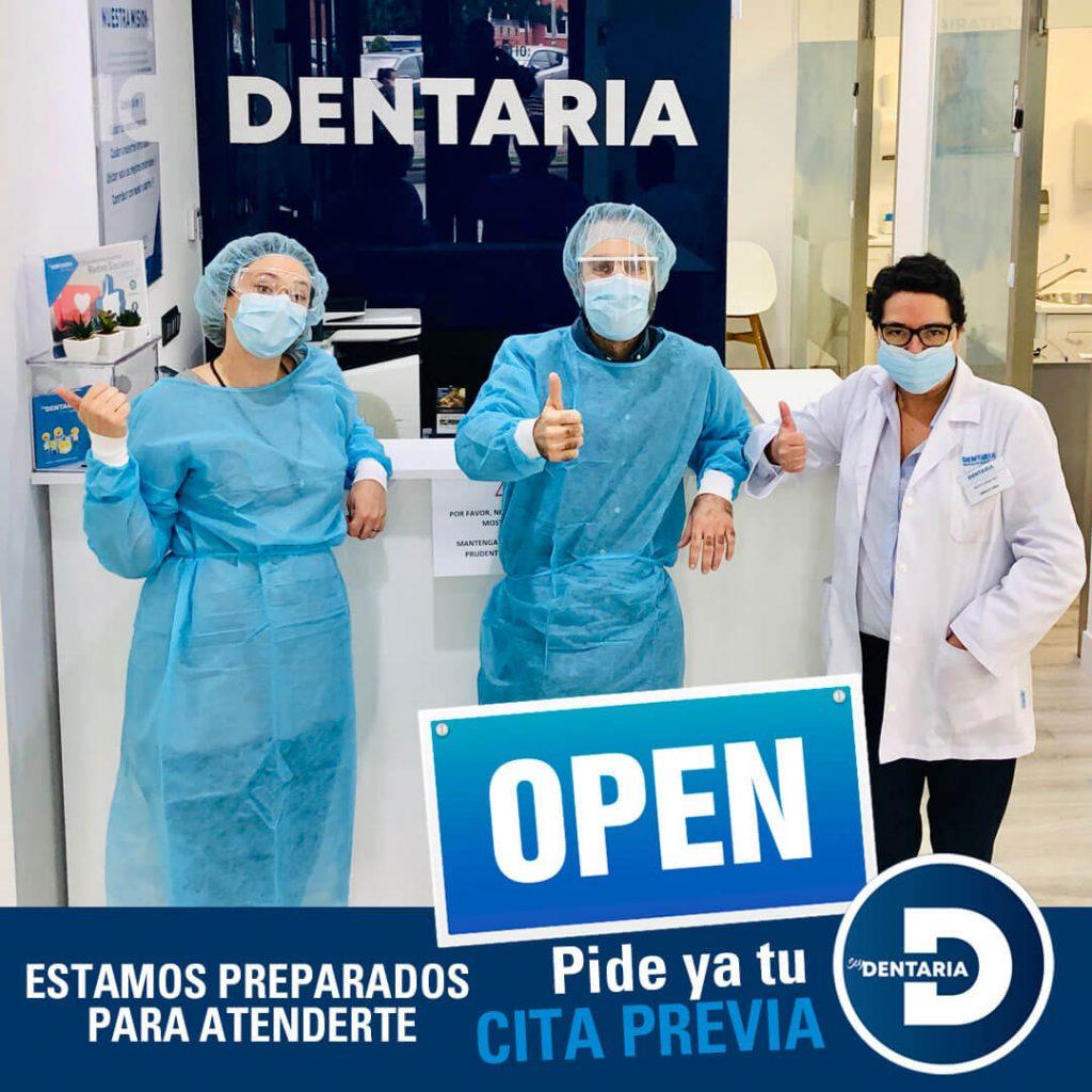 hemos abierto nuestras clinicas dentales